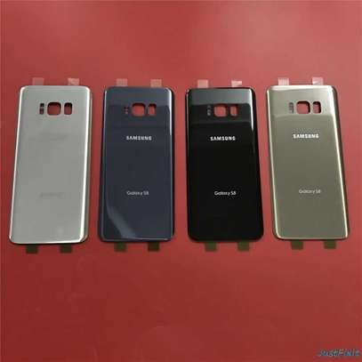 Battery Cover Replacement Back Door Housing Case For Samsung Galaxy S8 S8 Plus image 2