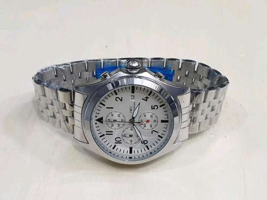 Silver straps executive watch image 1