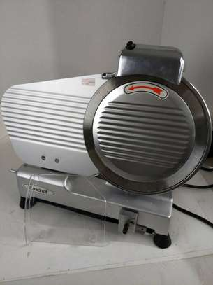 Commercial Meat Slicer, 10 inch Electric Food Slicer, 240W Frozen Meat Deli Slicer, Semi-Auto Meat Slicer For Commercial and Home use image 7
