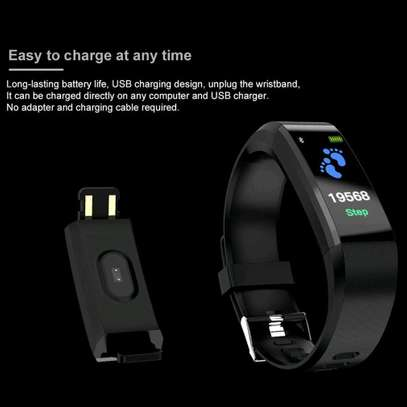 115 PLUS Smart Watch Heart Rate Smartwatch Sport Watch for ios android image 6