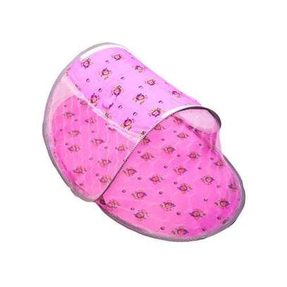 Baby Cot Mosquito Net pink image 1