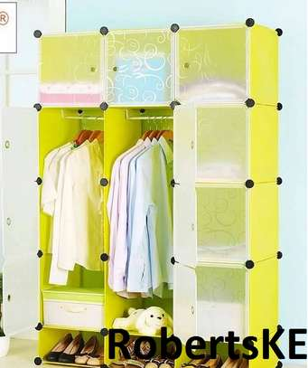 yellow portable  wardrobe image 1