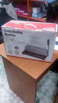 Brand New Comb Binding Machine