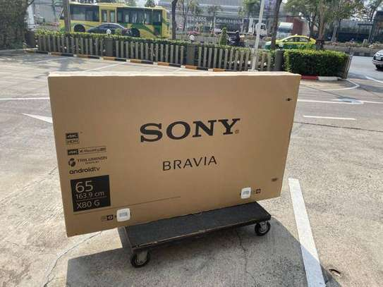 """65"""" Sony Bravia 4k Android TV 65X8000G image 1"""