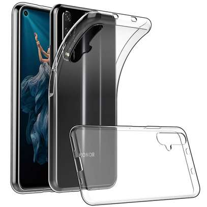 Clear TPU Soft Transparent case for Huawei Nova 5T image 1