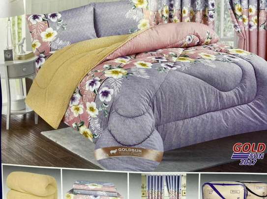 Woolen duvet with matching outfit image 3