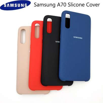 Silicone case with Soft Touch for Samsung A70,A60,A50,A40,A30,A20 image 4