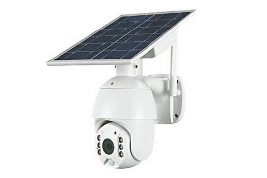 4G 2MP HD LTE PTZ Cctv Solar Powered IP Camera With Motion sensor image 1