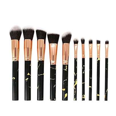 Make up brush 10pieces image 1