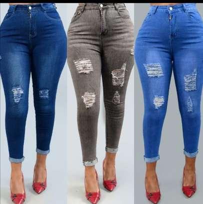 Women designer jeans image 2
