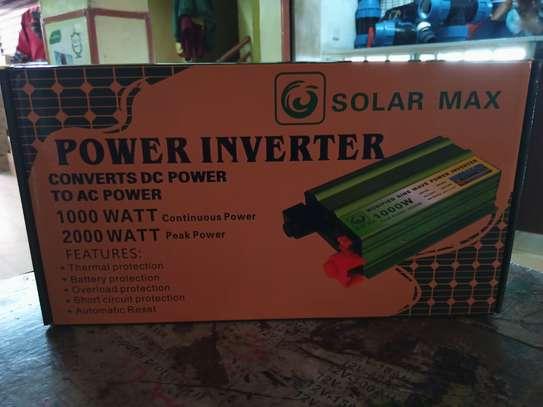 1000 WATTS POWER INVERTER,SOLARMAX image 1