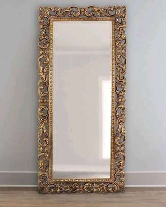 Stand alone mirrors with hardwood frames(6ft *2ft)