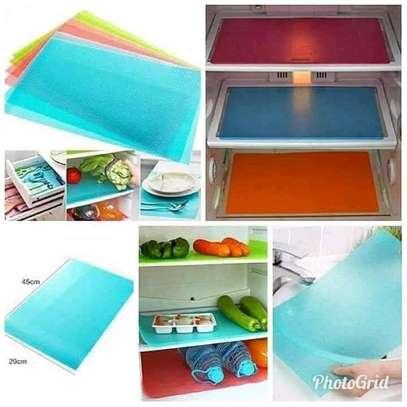 4pcs pvc fridge mats image 2