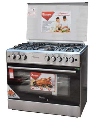 RAMTONS 5 GAS 60X90 GIANT COOKER + ELECTRIC OVEN- RF/491 image 1