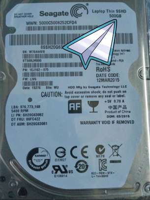 500GB Laptop SSHD Hard drive