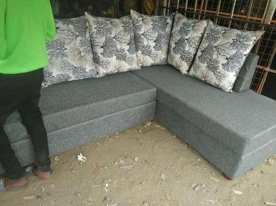 6-seater L shaped sofa image 2
