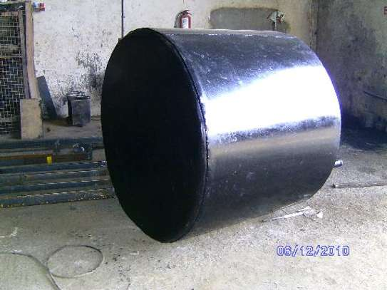 Underground tank 5000litres  ,  6mm thick mild steel plate image 1