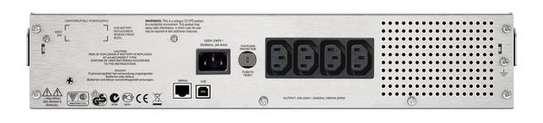 APC SMC1000I-2U Smart-UPS C 1000VA LCD 230V Rackmount UPS image 4