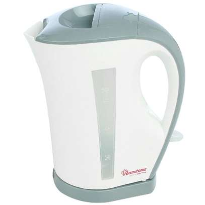 RAMTONS CORDLESS ELECTRIC KETTLE 1.7 LITERS WHITE AND GREY- RM/263 image 1