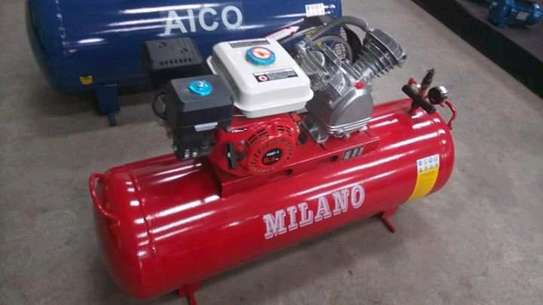 100litres petrol powered air compressor