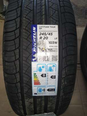 245/45Z R20 Michelin Tyres Is Made In USA image 1