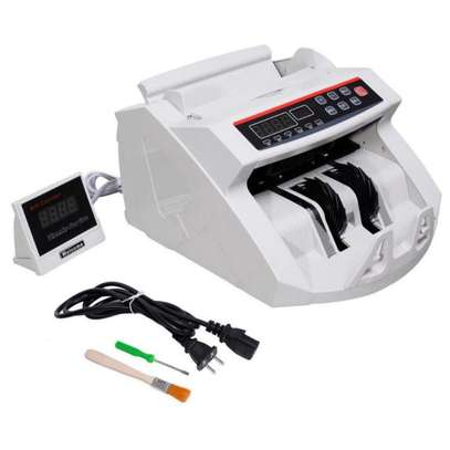 Money Counting Machine with Fake Note Detector image 1