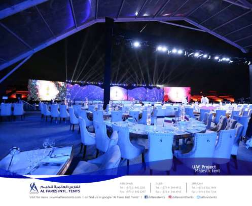 Tents & Marquees For Hire | For Sale | Al Fares Intl Tents image 10