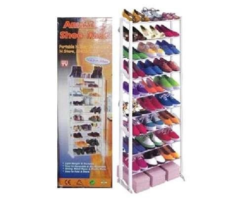 30 pairs amazing shoe rack image 1