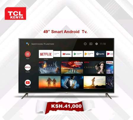 49 inch TCL smart Full HD televisions image 1
