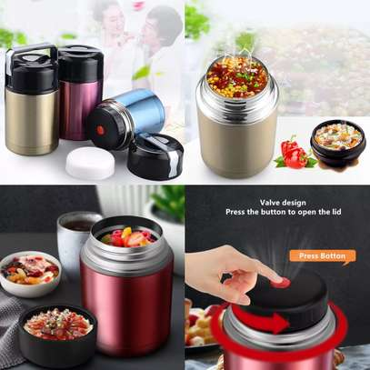 Double Stainless Steel Vacuum Thermal Food Flask