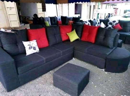 Sofa set made by hand wood and good quality material image 7