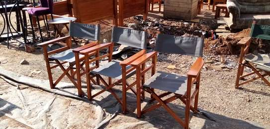 Camping chairs.