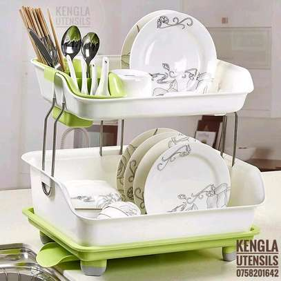 Two tier dish rack image 1
