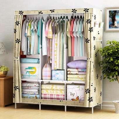 3 column Portable wardrobe