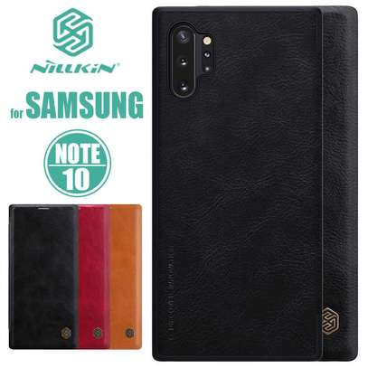 Nillkin Qin Series Leather Luxury Wallet Pouch For Samsung Note 10/Note 10 Pro image 3
