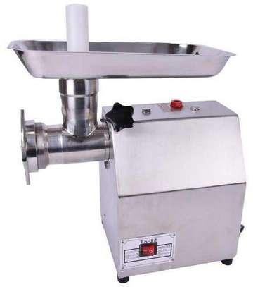 Mincing Machine Butcher Automatic Tk-12 Meat Mincer image 1