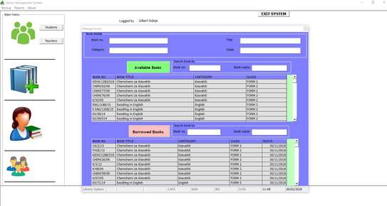 Library Management System image 1