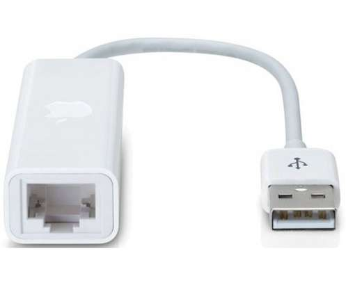 Original Apple MacBook Air USB Ethernet cable switch interface adapter image 1