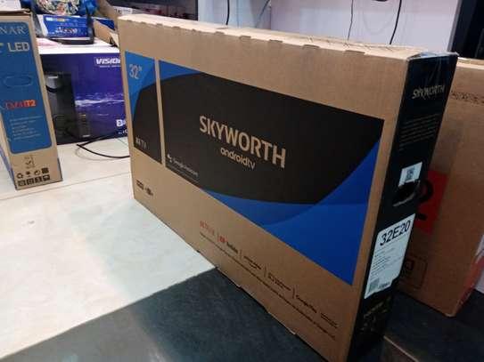 Skyworth 32 32E20 LED Smart Android Frameless HD TV image 2