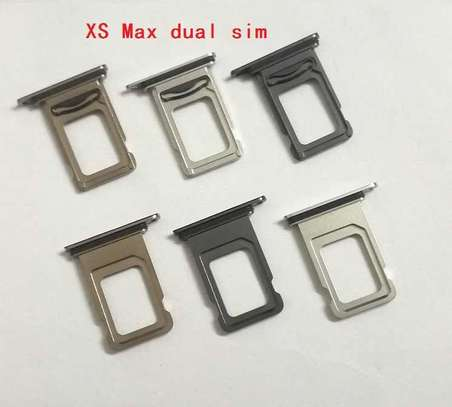Sim Card Tray Holder Slot for iPhone XS MAX image 4