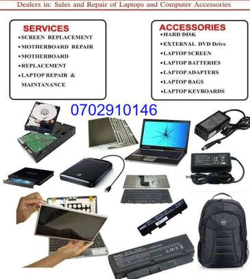 We Reapair  laptops & sell laptop parts,same day services image 1