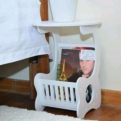 White stool image 1