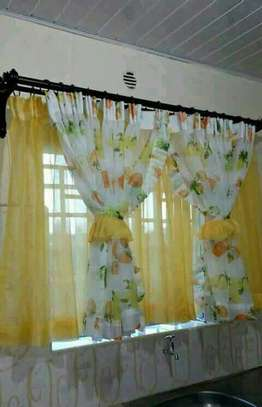 Designed kitchen curtains image 2
