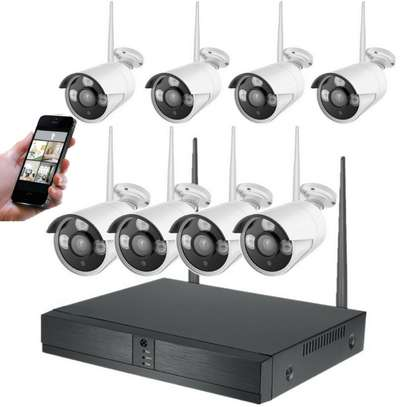 8 Channel Wireless NVR 5G Camera Kit image 2