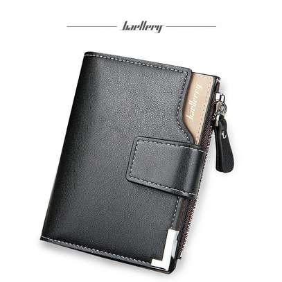 Black Leather Wallet-Baellerry image 1