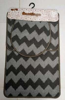 Toilet mat set image 2