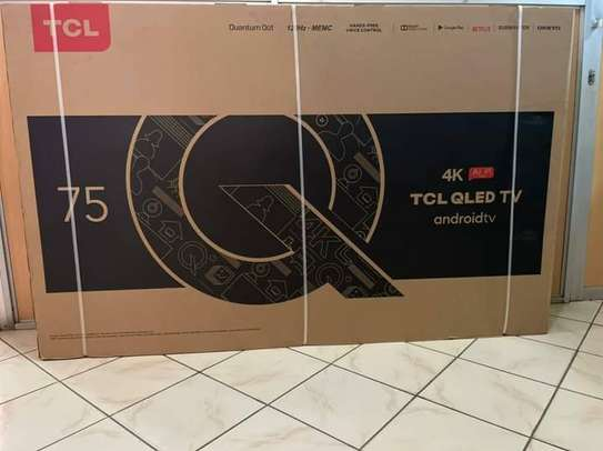 75 TCL Qled Android 2020 Model Television image 1