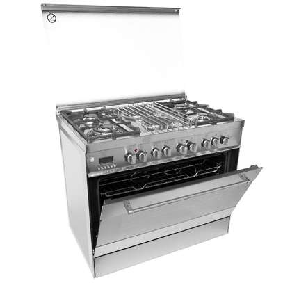 4 GAS+ 2 ELECTRIC STAINLESS STEEL ELBA COOKER- EB/174 image 3