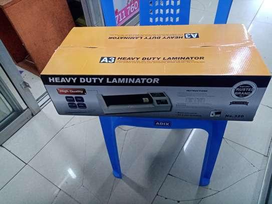Heavy Duty Metalic A3 Laminating Machine image 1