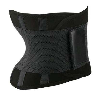 Generic Body Shapers Uni Waist Trimmer Tummy Slimming Belt Latex Waist Trainer For Men Women Postpartum Corset Shapewear( Blue) image 5